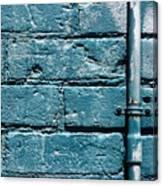 cerulean wall II Canvas Print