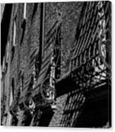 Cesena In Black And White Canvas Print