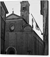 Cesena - Italy - The Cathedral 3 Canvas Print