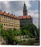 Cesky Krumlov Castle Canvas Print