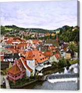 Cesky Krumlov Overview 2 Canvas Print