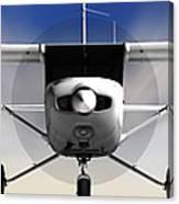 Cessna 152 Flying High Canvas Print