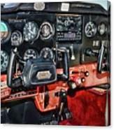 Cessna Cockpit Canvas Print