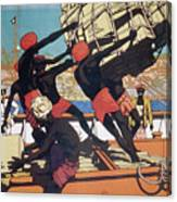 Ceylonese Dockworkers Canvas Print