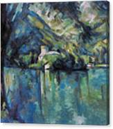 Cezanne: Annecy Lake, 1896 Canvas Print