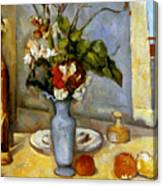 Cezanne: Blue Vase, 1885-87 Canvas Print
