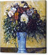 Cezanne: Flowers, 1873-75 Canvas Print