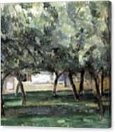 Cezanne: Le Clos Normand Canvas Print