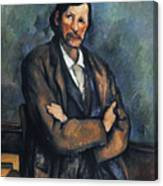 Cezanne: Man, C1899 Canvas Print
