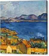 Cezanne Marseilles 1886-90 Canvas Print