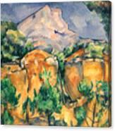 Cezanne: Sainte-victoire Canvas Print
