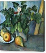Cezanne: Still Life, C1888 Canvas Print