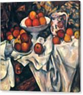 Cezanne: Still Life, C1899 Canvas Print