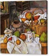 Cezanne: Table, 1888-90 Canvas Print
