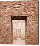 Chaco Canyon Doorways 1 Canvas Print