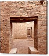 Chaco Canyon Doorways 2 Canvas Print