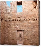 Chaco Canyon Doorways 4 Canvas Print