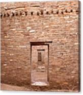 Chaco Canyon Doorways 5 Canvas Print