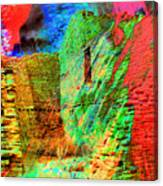 Chaco Culture Abstract Canvas Print