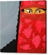 Chador Canvas Print