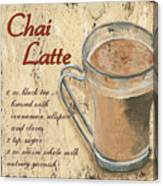 Chai Latte Canvas Print