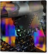 Chain And Sprockets - Amcg -  Macro 13 30 X 20 Canvas Print