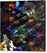 Chain And Sprockets - Amcg -  Macro 16 30 X 20 Canvas Print