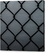 Chain Fence Canvas Print