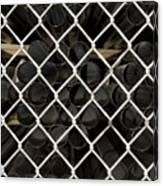 Chain Link Pipe Canvas Print