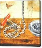 Chain Smoking Canvas Print