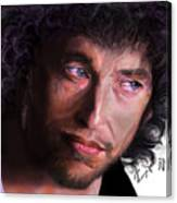 Chained To The Sky -  Bob Dylan  Canvas Print