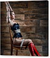 Chair Bondage - Fine Art Of Bondage Canvas Print
