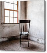 Chair By The Window Grafton Ghost Town Canvas Print