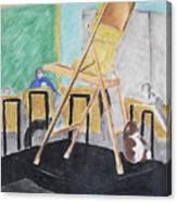 Chair Life Study Canvas Print
