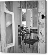 Chairs And Doors  Canvas Print