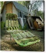 Chaise Lounge Canvas Print