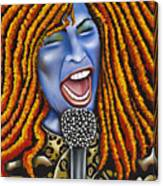 Chaka Canvas Print