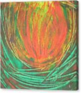 Chakra Protea Canvas Print