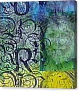 Chakra Totem Journal Canvas Print