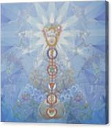 Chakras And Elements Canvas Print