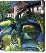 Chalet Canvas Print