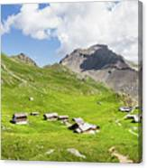 Chalets De Clapeyto # II - French Alps Canvas Print