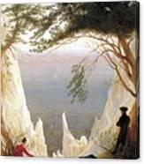 Chalk Cliffs Canvas Print
