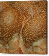 Challah Bread Canvas Print