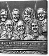 Challenger Crew Canvas Print