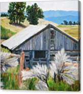 Chama Valley Barn Canvas Print