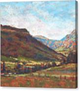 Chama Valley Light Canvas Print