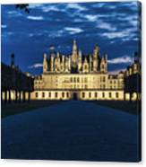 Chambord Castle Canvas Print