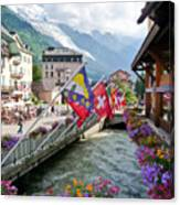 Chamonix, France Canvas Print