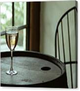 Champagne Glass Canvas Print
